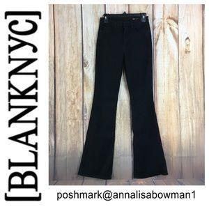 💸[BlankNYC] black flare leg jean size 27